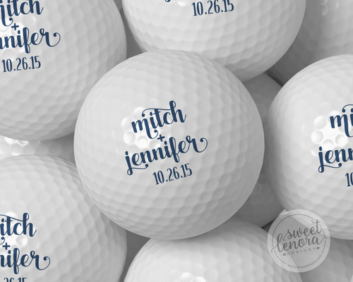 Fancy Names Personalized Golf Balls