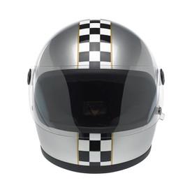 Gringo S Helmet - Le Checker in Silver