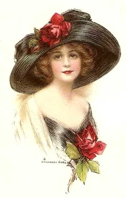 Victorian Lady Decal Sheet