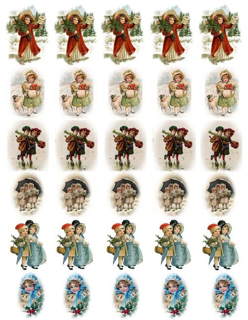 Victorian Kids Decal Sheet