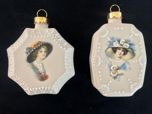 Hexagon Octagon Ornaments