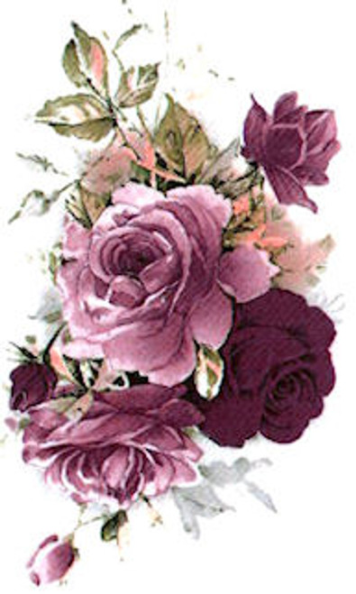 Burgundy Rose Spray