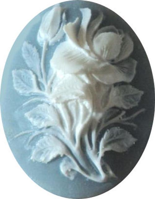 Flower Cameo Mold #1