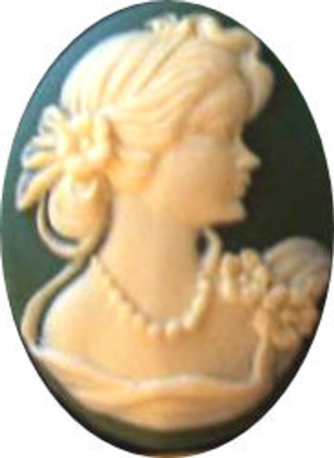 Ladies Facing Right Cameo Mold #1