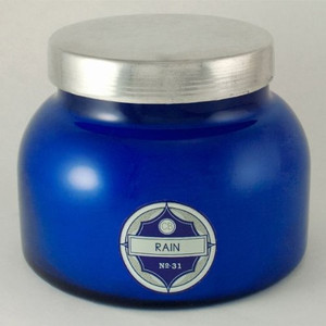 X Luxury Capri Blue 19 oz. Signature Jar Candle Rain for Spiritual Cleansing & Purification Of Your Energetic Layers
