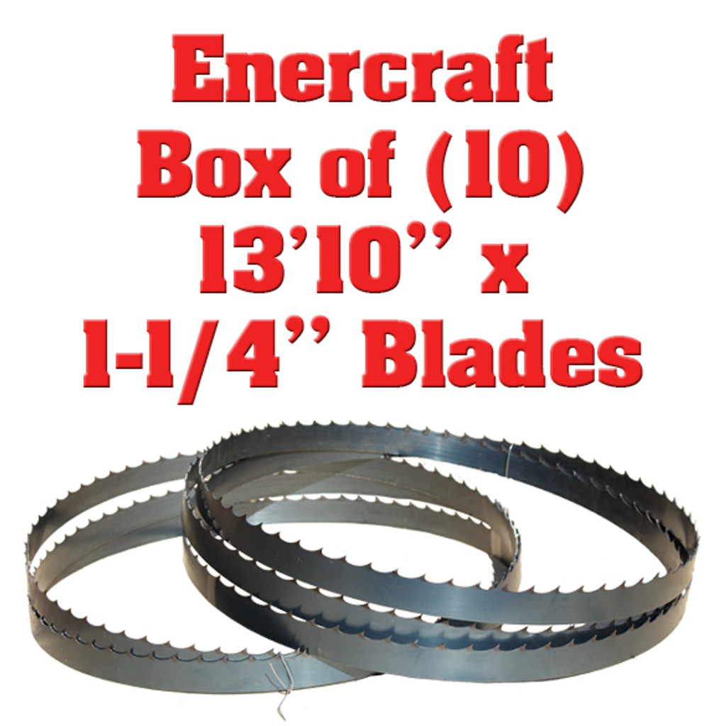 Band saw blades for Enercraft sawmill