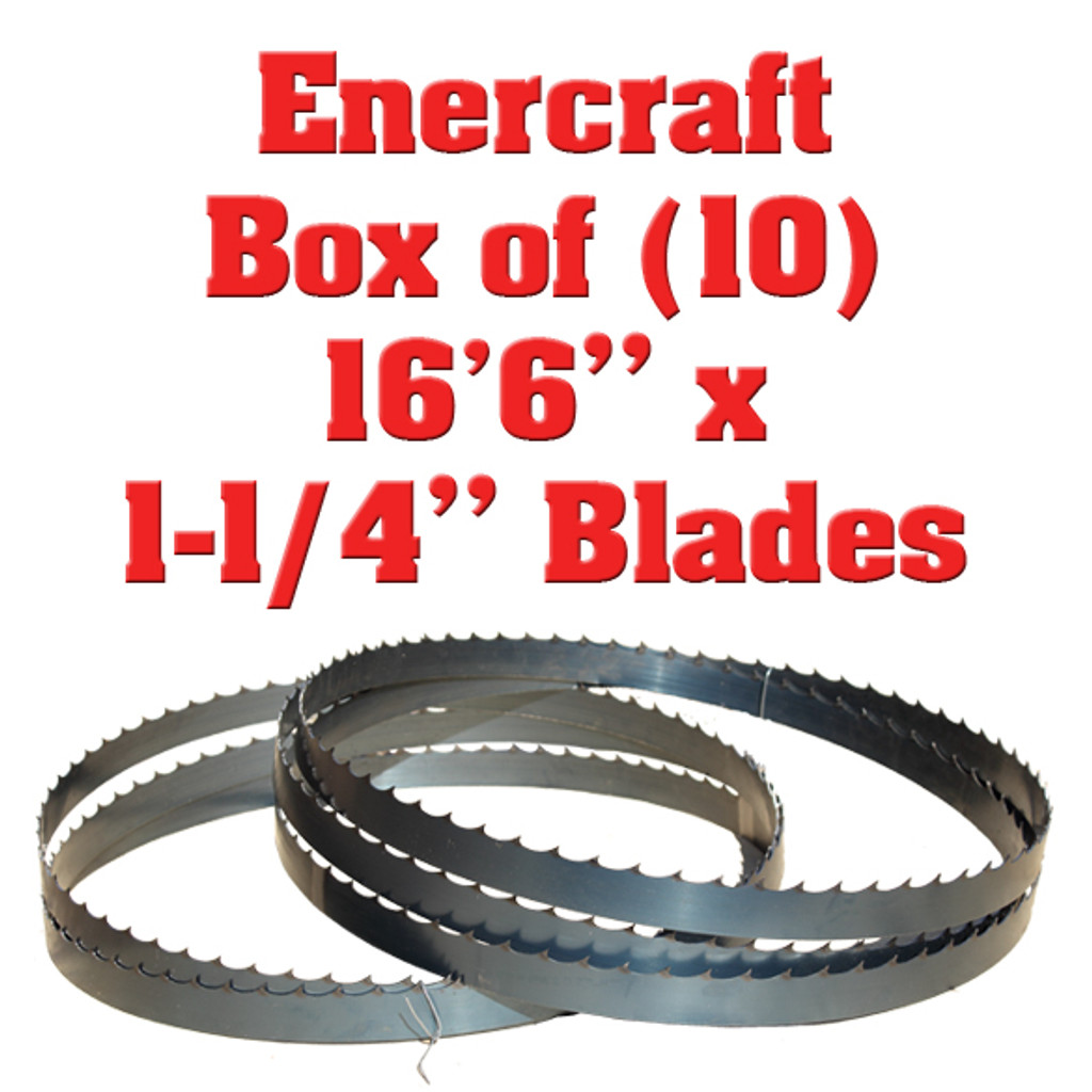 "Box of 10 Blades 16'6"" x 1-1/4"" Enercraft"
