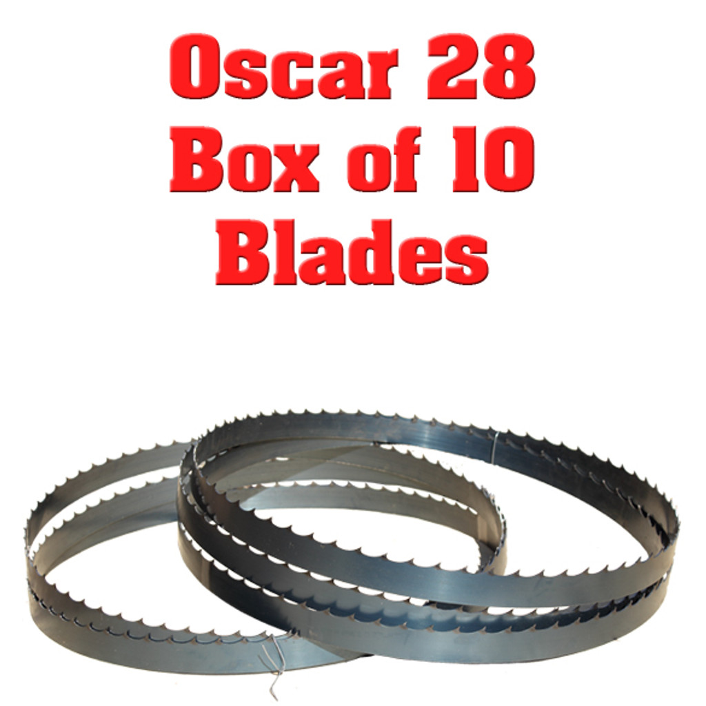 Band saw blades for Hudson Oscar 28
