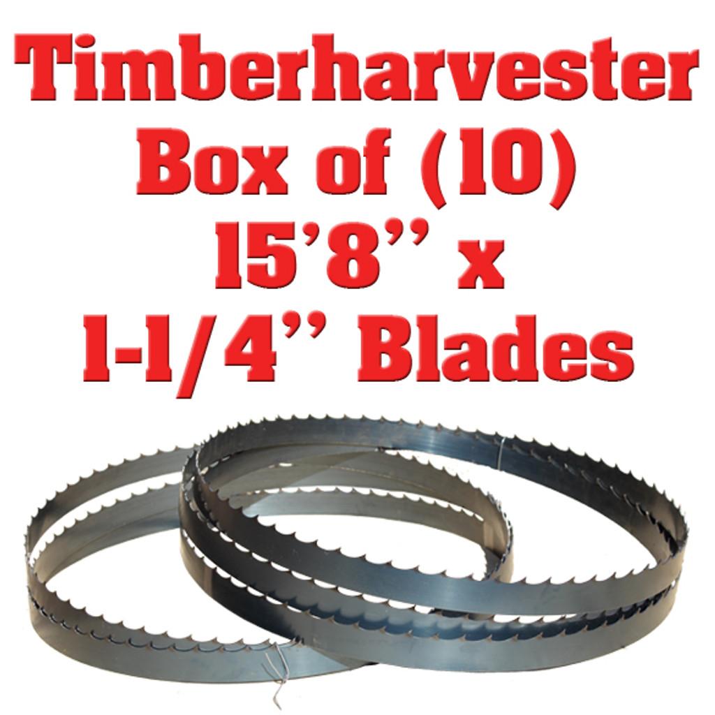 Band saw blades Timberharvester