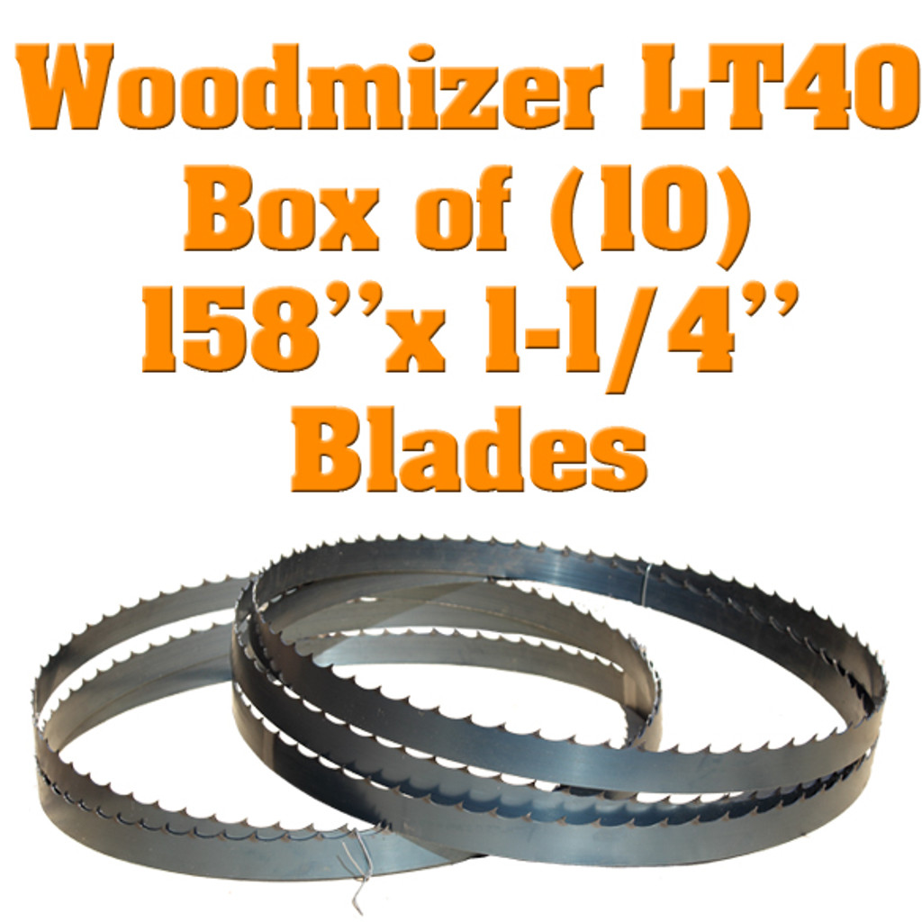 Band saw blades for Woodmizer LT40