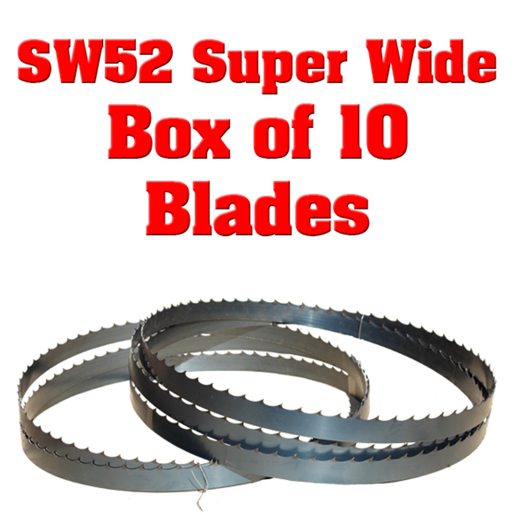 Blades for Cooks SW52 Super Wide Sawmill