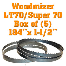 Bandsaw blades for Woodmizer LT70