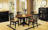 "Chatham Pedestal Round 42"" Table With Four Slat Back Chairs"