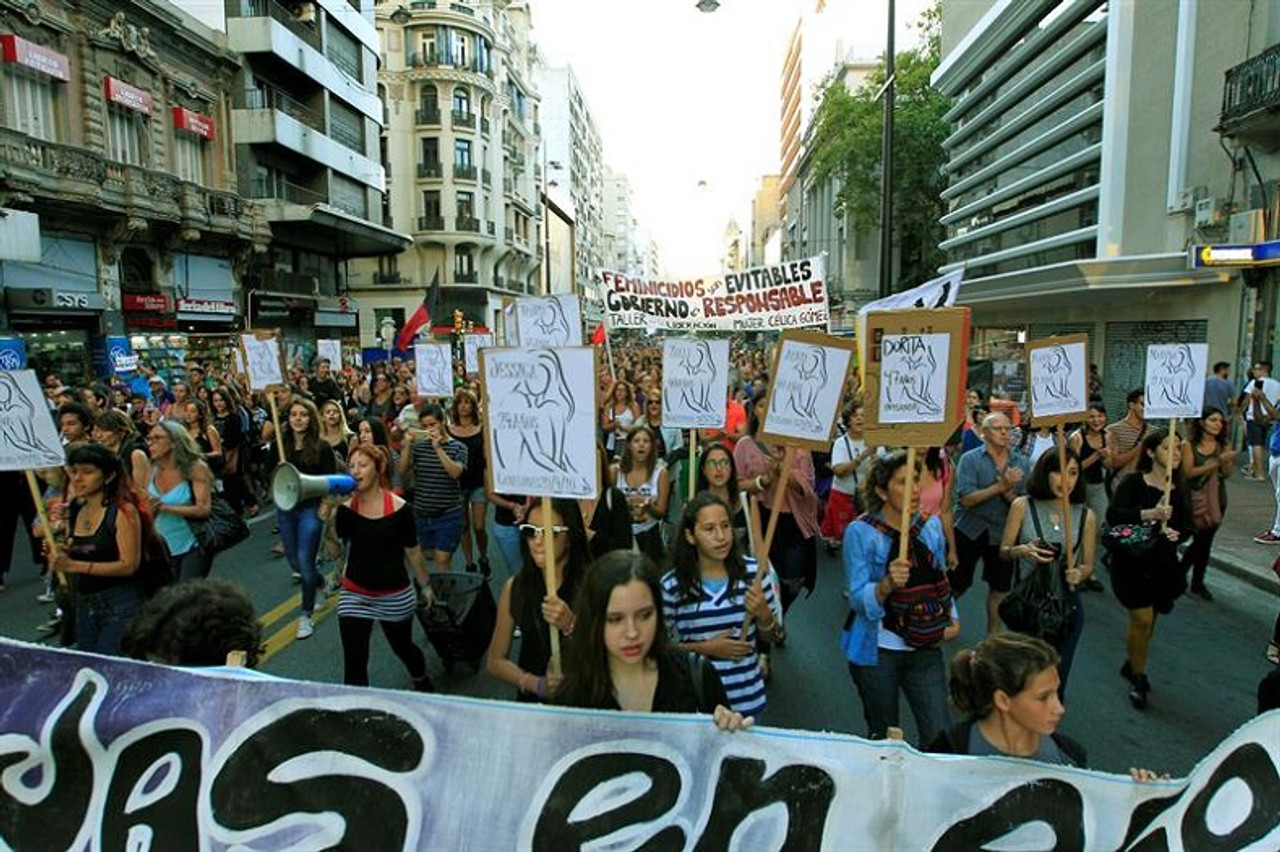 Women Stand Up to Femicide and Domestic Violence in Uruguay