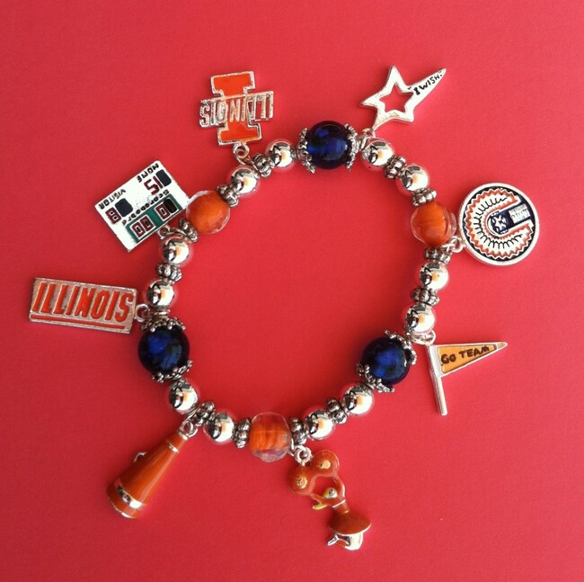 Fighting Illini Wishing Bracelets