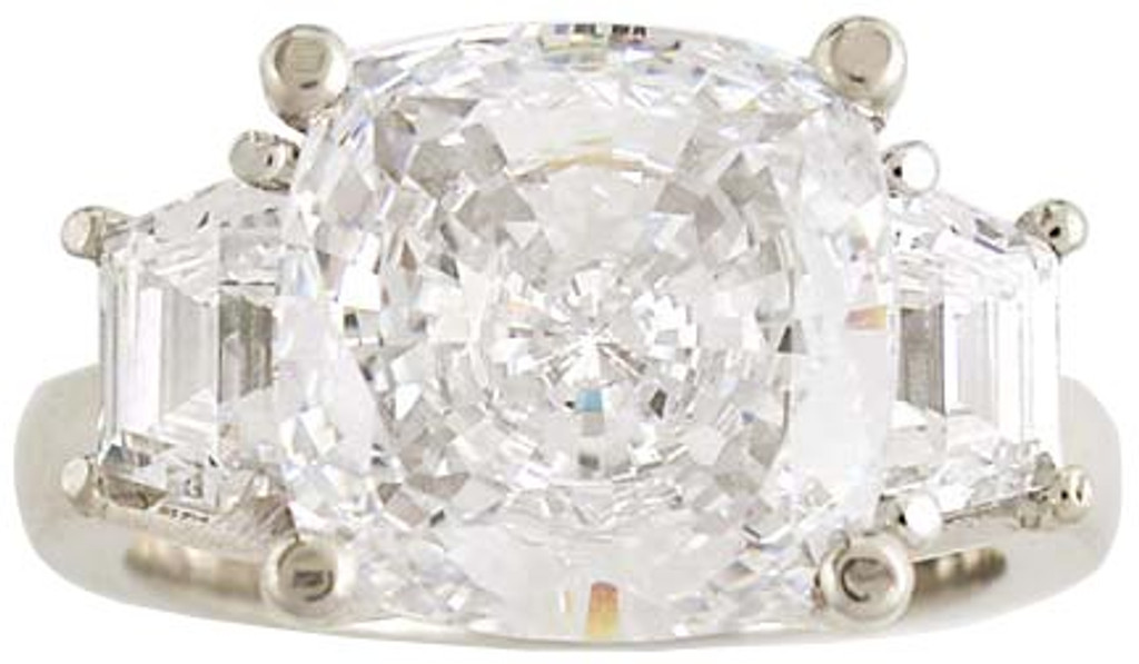 Stunning Hand Cut & Polished Cubic Zirconia