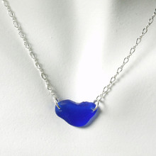 Cobalt Glass Laurie Necklace