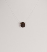 Petite Brown Illusion Necklace