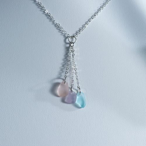 Pastel Y Necklace