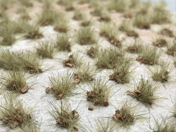 Self-Adhesive Tufts - 6mm Rocky Autumn - Natural Layout
