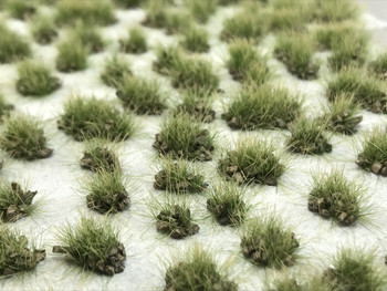 Self-Adhesive Tufts - 6mm Grey Rocky Prairie - Natural Layout