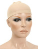 WIG CAP STOCKING MATERIAL SKIN COLOUR 2 PC