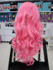 #PINK CURLY WIG! JAPAN ULTRA SOFT NEW FIBRE! SUPER NICE