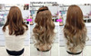 #005W 10H613C# beautiful heat friendly non shiny hair extensions (WATCH VIDEO)