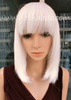 #8818L WHITE LONG BOB WIG WITH SCALP BEST QUALITY
