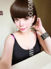 #3864 ASH BROWN PREMIUM NON SHINY CUTE BOB WIG (MANY COLOURS AVAILABLE)