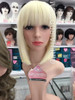 #7809G613 PREMIUM PLATINUM BLONDE LONG BOB WIG