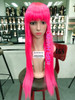 Bright Pink Long Wig new arrivals