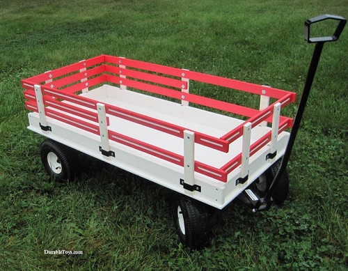 Hochstetler Poly Wagon with Racks in Ten Colors - Model 46