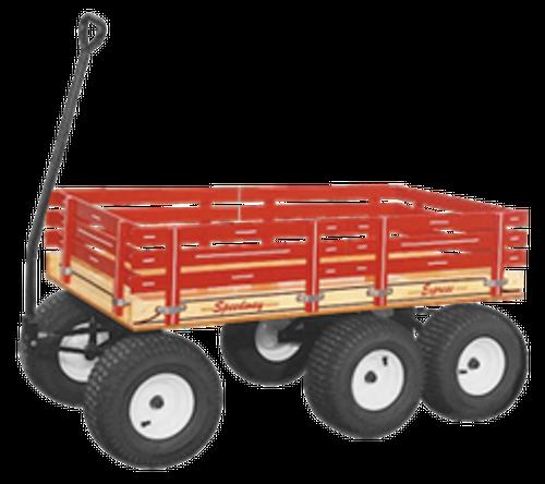 Speedway Express - Series 860 Six Wheel Tandem Wagon