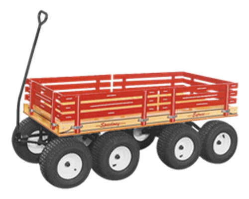 Speedway Express-Series 870 Eight Wheel Double Tandem Wagon