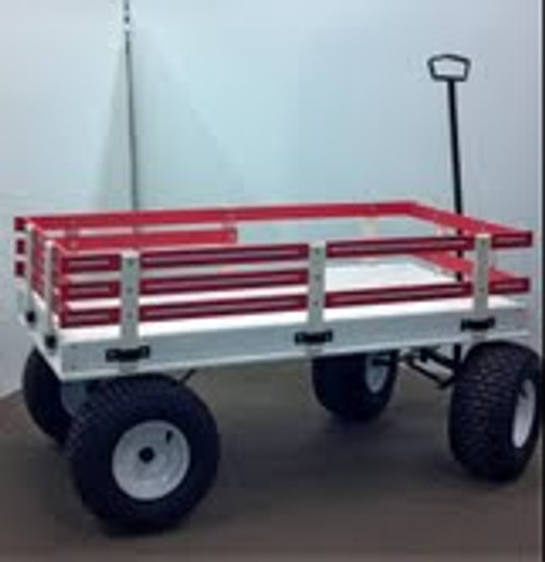 Hochstetler-Poly Beach Wagon and Racks in Ten Colors