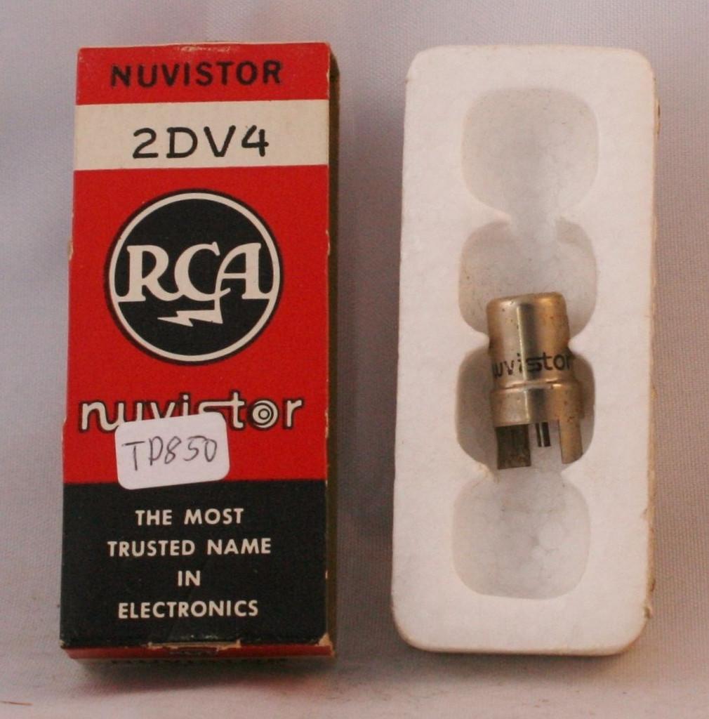 NIB RCA USA 2DV4 Vacuum Tube