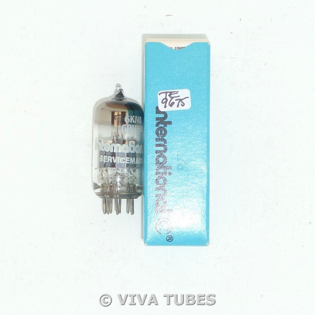 NOS NIB International USA 6KN8 / 6RHH8 [RARE Drop-In 6DJ8 6922 Sub] Vacuum Tube