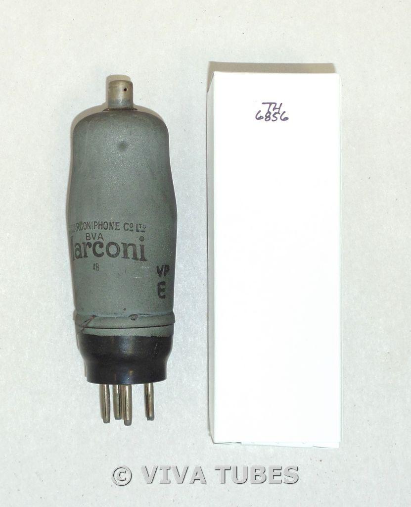 Marconi England VMS4/B [E445] Lead Shield Coating Vacuum Tube