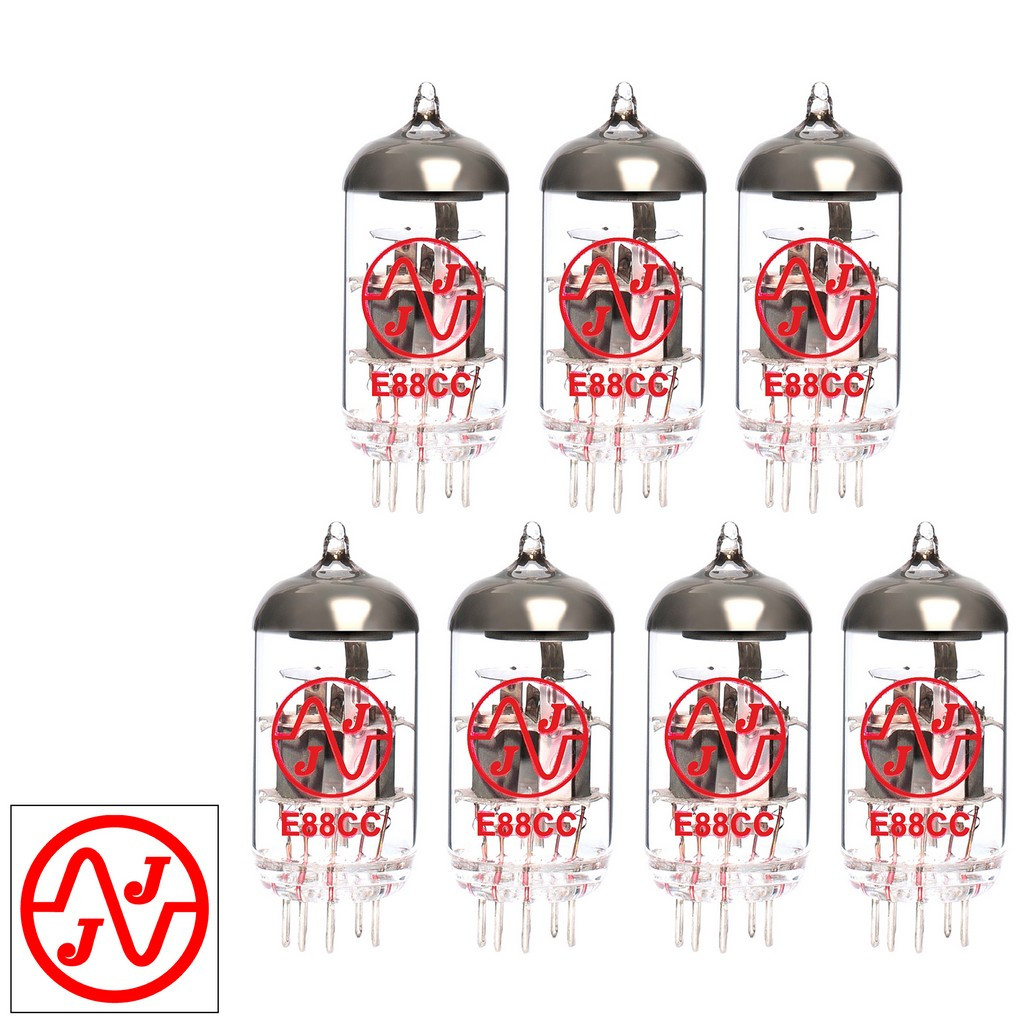 Gain Matched Septet (7) JJ 6922 / E88CC / 6DJ8 / ECC88 Vacuum Tubes - Brand New