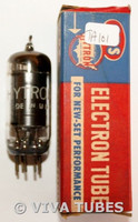 In Box 1961 Hytron [CBS] USA 6AU6 [EF94] Black Plate Top [] Get Vacuum Tube 66%