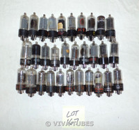 Lot of 30 6BQ6 Loose Vacuum Tubes. Untested Mixed  Brands Not NOS.