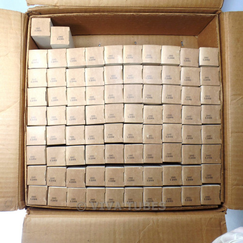 Lot of Type 12H6 RCA - 82 Untested, Vintage, Boxed Vacuum Tubes