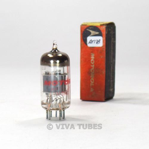 True NOS NIB Sylvania USA 6EA8 = 6GH8A Gray Plate O Get Vacuum Tube 100%