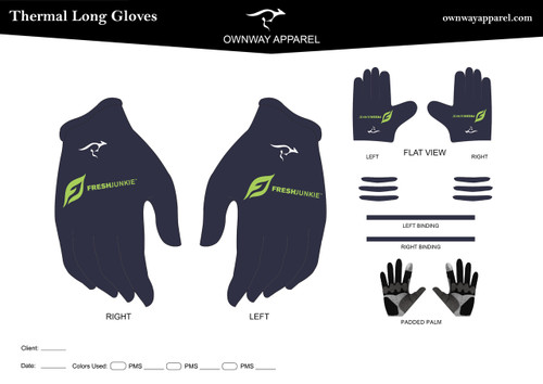 Fresh Junkie Thermal Gloves