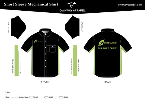 Fresh Junkie Support Crew Mechanics Shirt