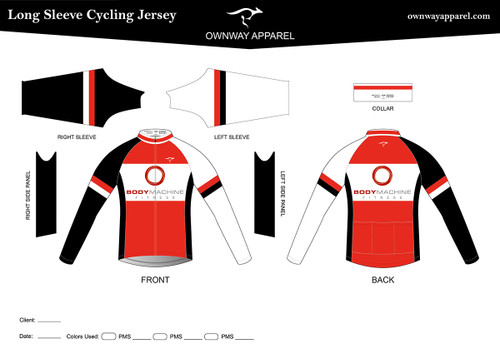 BMF Long Sleeve Thermal Jersey