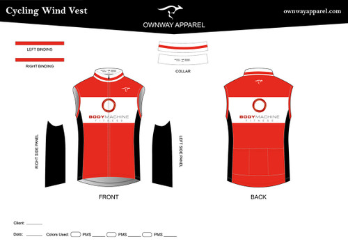 BMF Thermal Cycling Wind Vest