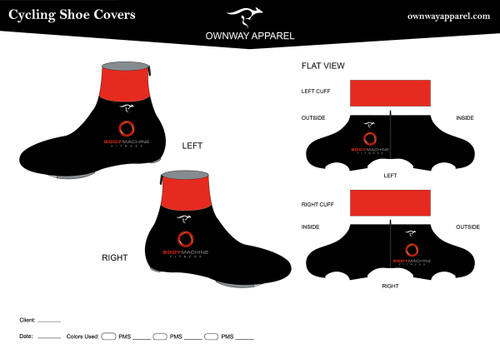 BMF Winter Cycling Shoe Covers