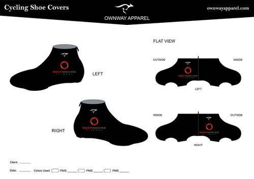 BMF Summer Shoe Covers